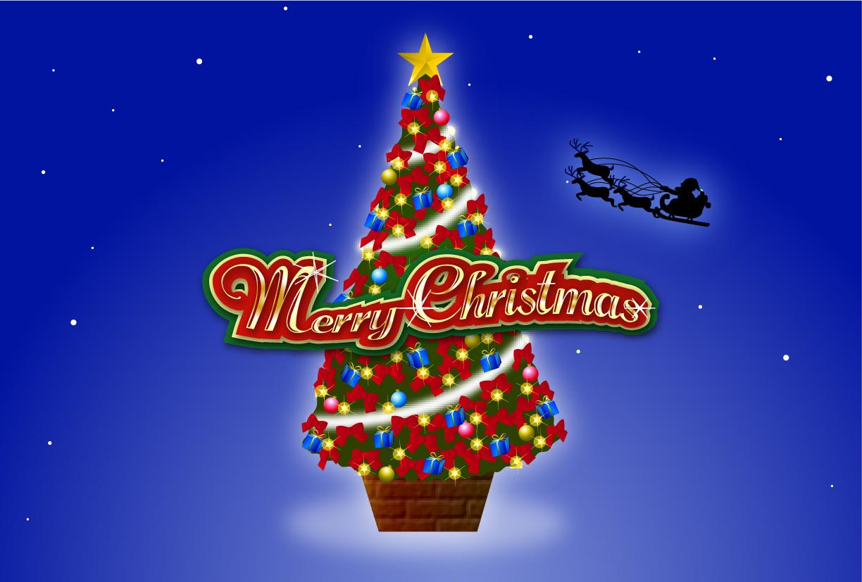 ... クリスマスカード』無料素材 : 無料イラスト クリスマスカード : イラスト